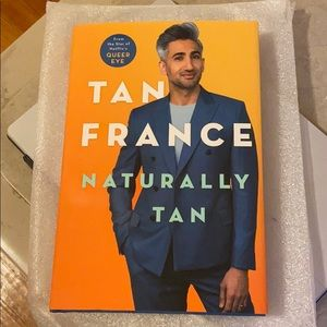 Signed Tan France Naturally Tan book